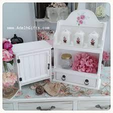 Shabby Chic Spice Rack Jual Decor Shabby Adelh Gifts