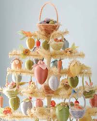 easter egg tree decorative easter egg tree martha stewart