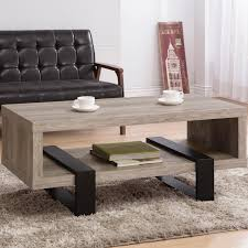 coaster accent tables modern open shelf coffee table value city