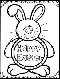 free easter coloring pages thebrightsunflower tpt