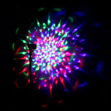 mini disco ball light rotating led mini disco ball stage spot light christmas party