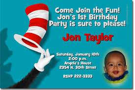 dr seuss birthday invitations cat in the hat birthday invitations thing 1 and thing 2 birthday