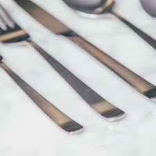 oslo stainless flatware set relish decor