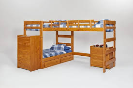 Make L Shaped Bunk Beds Bedroom Gorgeous Wooden L Shaped Bunk Beds Simple Design L