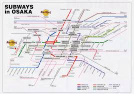 Subway Station Map by Osaka Subway Station Map My Blog