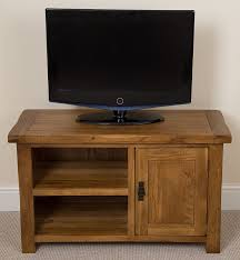 tv stands solid oak country style corner tvd backds for flat