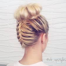 howtododoughnut plait in hair 20 cute upside down french braid ideas