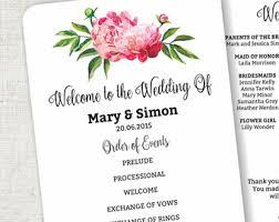 wedding fan template etsy