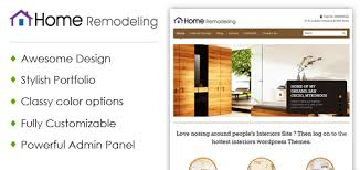 Home Renovation Websites Home Remodeling And Renovation Wordpress Theme Inkthemes