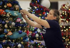 riverside u0027s festival of trees puts fundraising twist on christmas