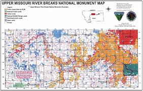missouri breaks map save the missouri river breaks