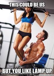Fit Couple Meme - couple