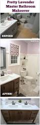 My Painted Bathroom Vanity Before - before u0026 after my pretty lavender master bathroom makeover
