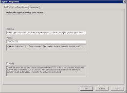pattern rule directory how to monitoring sql logs in scom 2007 r2 scomizer english