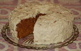 country kitchen recipe baking a delicious sweet potato cake