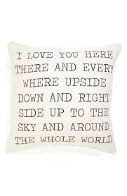 wedding gift nordstrom i you pillow want need nordstrom