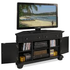 Tall Corner Tv Cabinet Corner Tv Stand With 2 Door Cabinets And Rustic Style