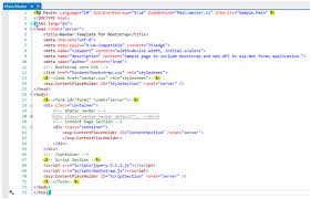 create an asp net web forms application using bootstrap and web