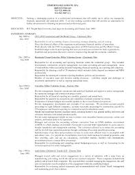 Senior Accountant Resume Sample by Schenk Craig Cost Accountant Resume Craig Schenk 284 Starwood