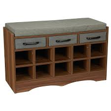 benches entryway shoe storage bench deep wood material 3 small