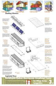 Container Homes Floor Plan 3176 Best Container House Images On Pinterest Shipping
