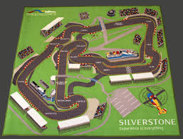 Kids Race Track Rug by Silverstone International Race Circuit Children U0027s Play Mat