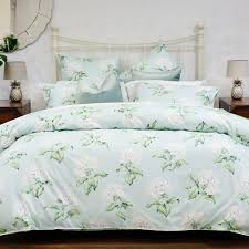 heligan quilt cover set in duck egg laura ashley