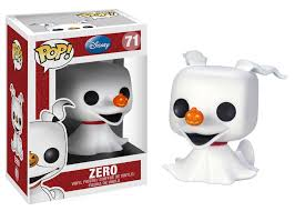 zero the ghost pop funko figurine nightmare before
