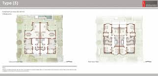 Twin Home Floor Plans Zayed Home بيت زايد Palm Hills Bamboo Ext 2 Twin House For Sale