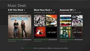 get music deals microsoft store
