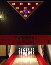 basement bowling pictures
