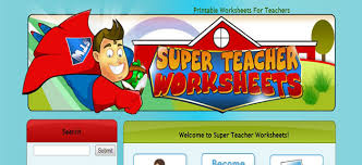 super teacher worksheets best kids websites