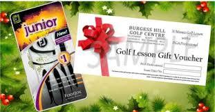 children u0027s golf christmas ideas u2013 the burgess hill golf centre