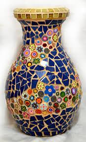 Polymer Clay Vases Mosaic Works U0026 Studio U2013 Sigalit Eshetplant Pots And Vases Mosaic