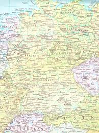 Map Of Frankfurt Germany by Maps Germany Pleasing Map Of East And West Germany With Cities