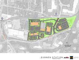 sunnen station phase ii to add apartments another car dealership sunnen station development tod st louis