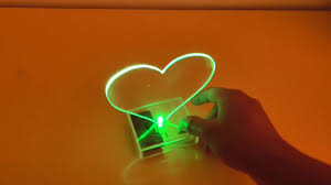 how to make a luminous heart for decoration at home youtube
