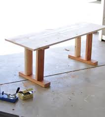 Make Wood Patio Furniture by How To Make Your Own Tile Table