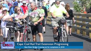 cmn cape cod rail trail july 2017 update youtube