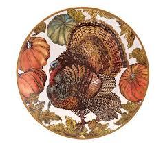 heritage turkey dinner plates set of 4 pottery barn