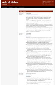 It Management Resume Examples by It Manager Cv Beispiel Visualcv Lebenslauf Muster Datenbank