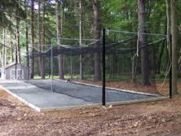 Basement Batting Cage by Metz Athletic Construction Llc Traditional Home Gym