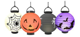 halloween 4 pack led lanterns only 9 99 shipped the krazy