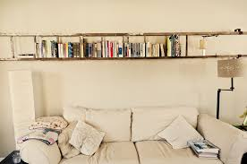 L Bracket Bookshelf Cheap Diy Antique Ladder Shelf