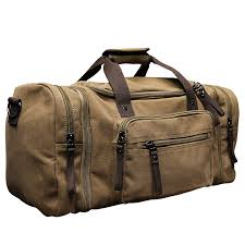 travel luggage bags images Xiao p vintage military canvas men travel bags carry on luggage jpg