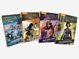 avatar legend korra complete series books 1 2 3 4 dvd