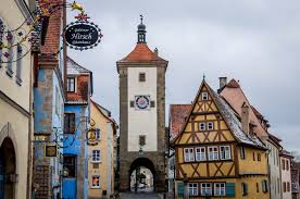 Rothenburg Germany Map by Best Of Germany U0027s Small Towns On The Romantic Road Itinerary