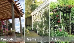 Arbor Trellis Ideas Pergolas And Arbors Pergola Trellis Or Arbor How Can You Tell