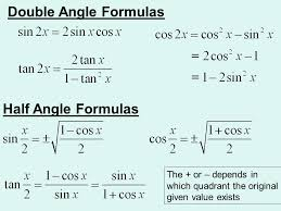 ch 5 5 multiple angle and product to sum formulas ppt download