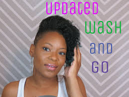how to style short hair shaved sides undercut updated wash n go